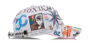 BBD Side Logo Cap Graffiti Ver. (White)