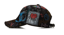 BBD Tweed Cap Graffiti Ver. (Black)