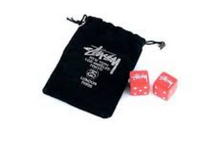 stussy DICE SET RED