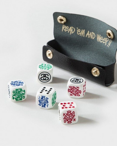 STUSSY POKER DICE SET