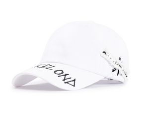 BBD Side Patch Graffiti Logo Cap (White)