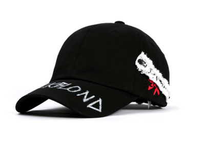 BBD Side Patch Graffiti Logo Cap (black)