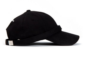 BBD Patch Long Strap Cap (black)
