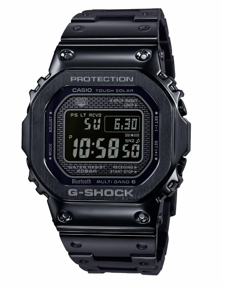 G SHOCK GMWB5000GD-1 BLACK