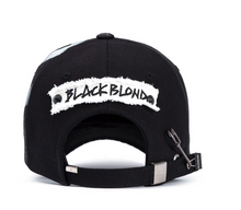 BBD Solid Oxford 7 Sins Graffiti Cap (black)