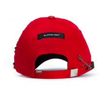 07 01 BBD Beyond Graffiti Logo Double Visor Cap (Red)