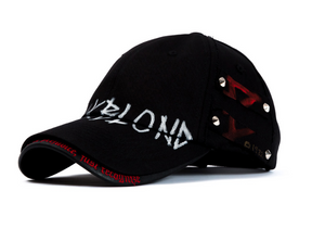 07 01 BBD Beyond Graffiti Logo Double Visor Cap (black)