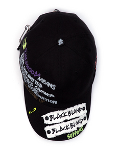 BBD SIDE LOGO CHILDHOOD CAP BLK