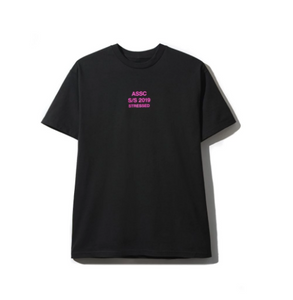 A.S.S.C Stressed black Tee