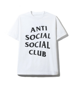 A.S.S.C SHATTO white TEE