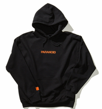 A.S.S.C x Undefeated Paranoid Hoodie Black