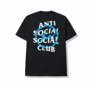 A.S.S.C x Fragment blue bolt tee