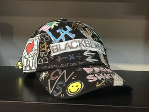 BBD x CNVS Tweed Cap Grafitti ver