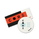 CORE stickers