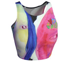 Athletic Crop Top -