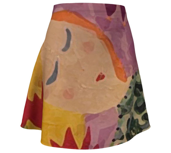 "Flare Skirt - ""Six Wishes"""