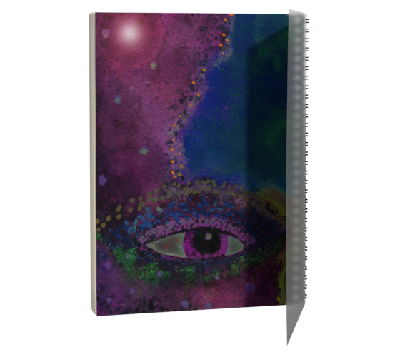 "Spiral Notebook - ""Face Over Star Mountain"""