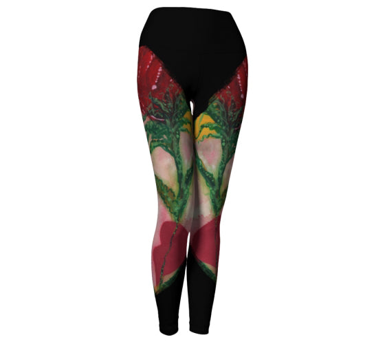"Yoga Leggings - ""Take Me to Tango"""