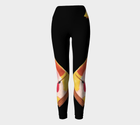 Yoga Leggings - 'The Artist'