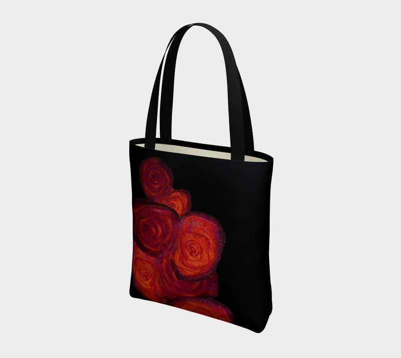 "Urban Tote - ""Dipped in Rouge"""