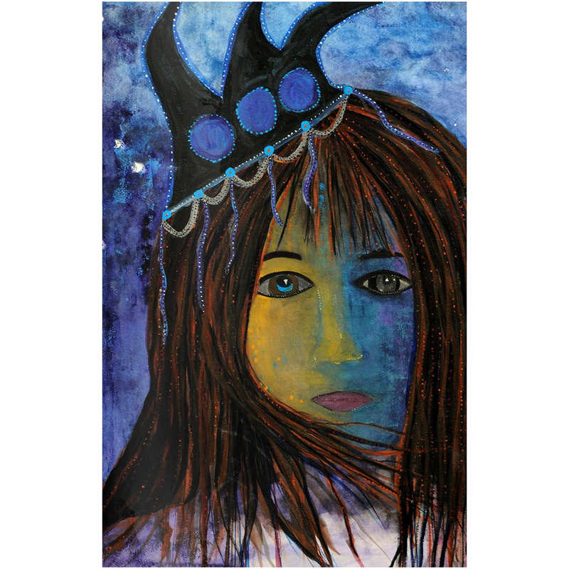 "Metal Print - ""Queen of Mermaidens"""