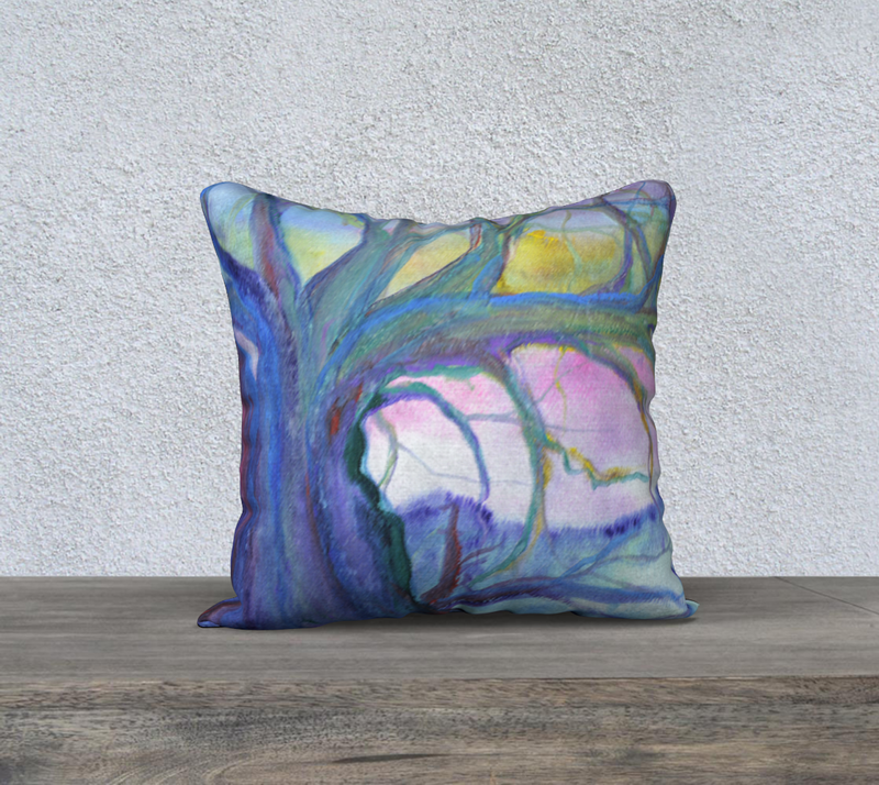 Pillow Cover - 'Wise Old Tree'