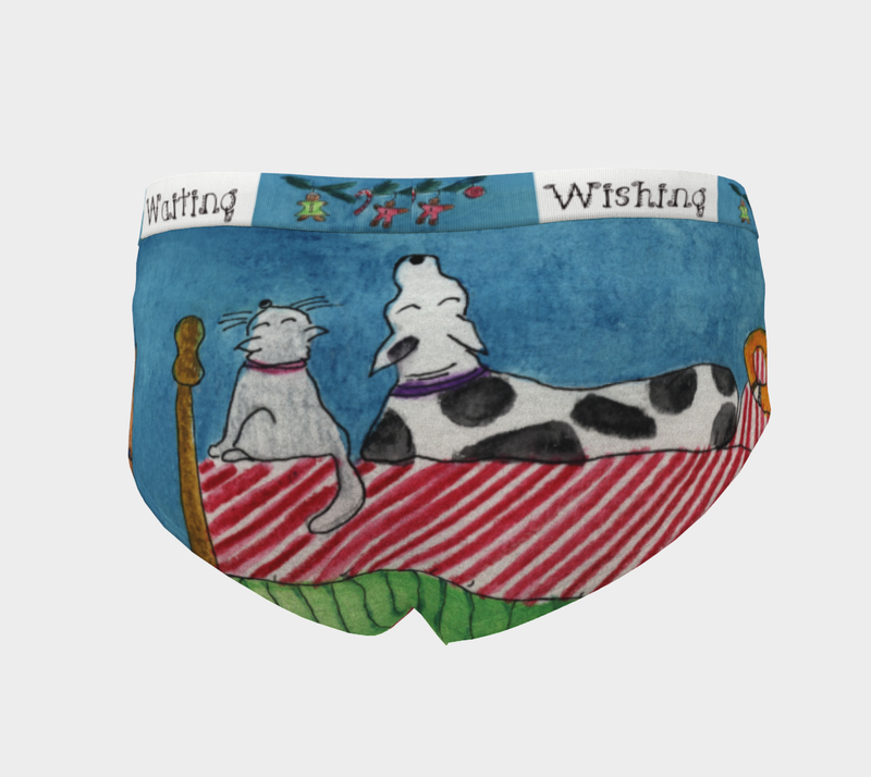 Cheeky Briefs - 'Wishing and Waiting'