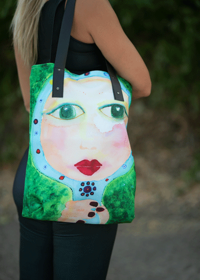 "Urban Tote Bag - ""Mother"""