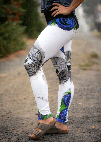 "Yoga Leggings - ""Change"""