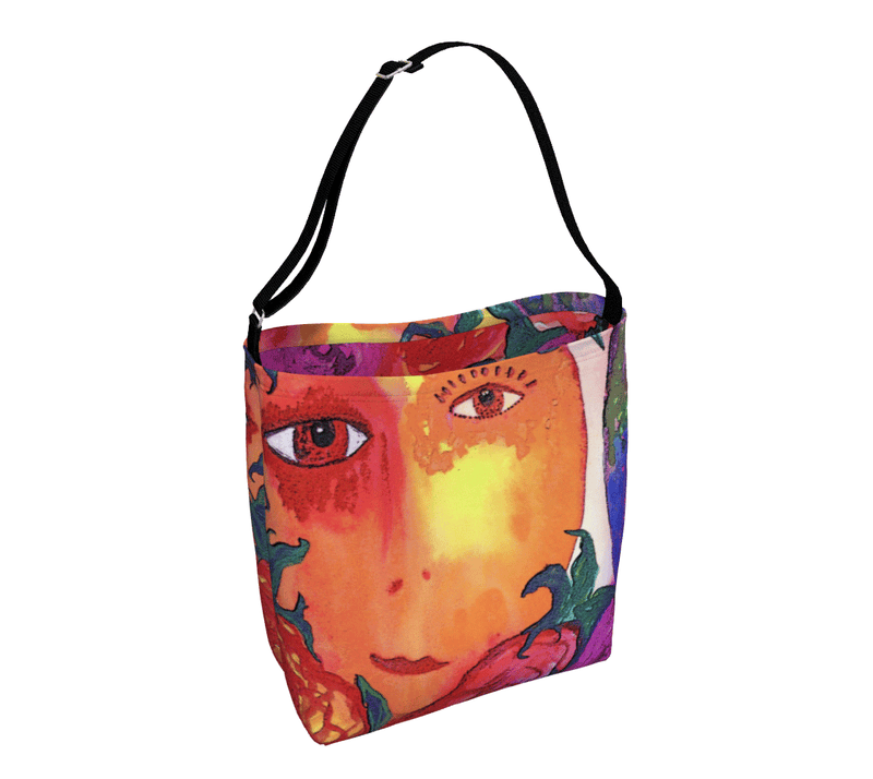 "Day Tote - ""Gemini Moon"""