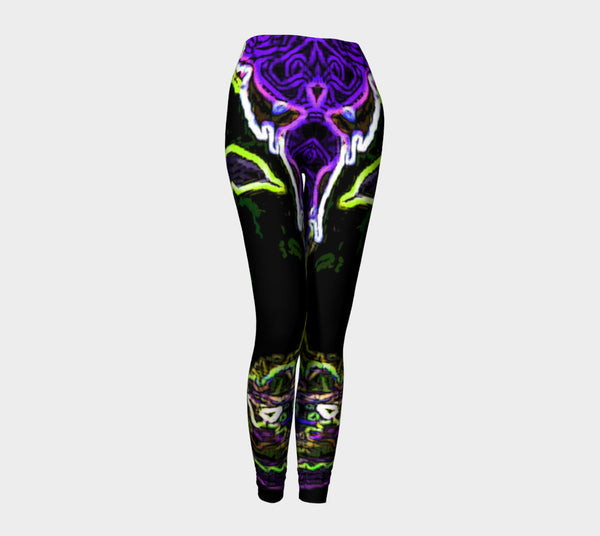 Leggings - 'Jeweled Negra - Two'