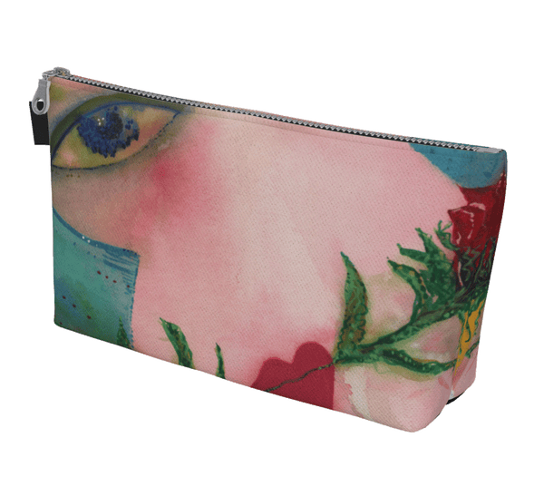 "Clutch or Makeup Bag - ""Take Me to Tango"""