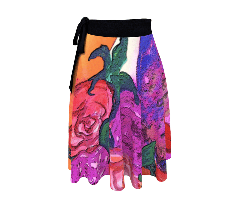 Wrap Skirt - 'Gemini Moon'