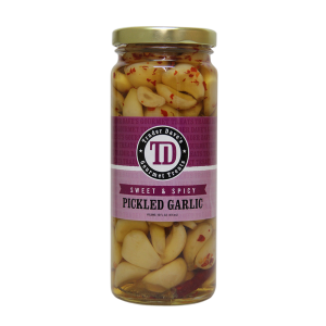 Trader Dave's – Sweet, Spicy, Pickled GARLIC