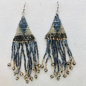 Gloria Earring, Grey