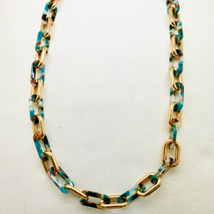 Randa Necklace, Green