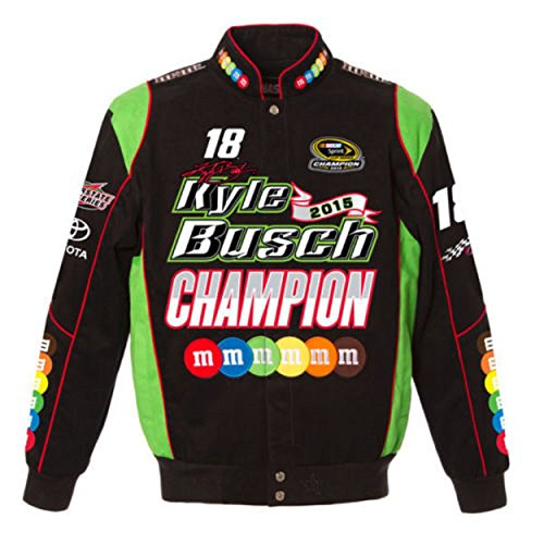 Kyle Busch Champion Twill Jacket - Black