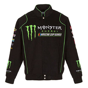 Monster Energy Black Twill Jacket - Black