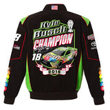 Kyle Busch Champion Twill Jacket - Black - JH Design