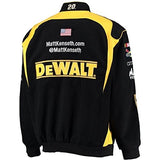 Matt Kenseth Dewalt Tools Twill Jacket - Black