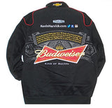 Kevin Harvick Budweiser Twill Jacket - Black