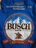 Kevin Harvick Busch Twill Jacket - Blue - JH Design