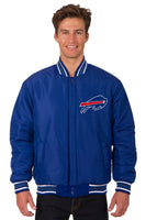 Chicago Bills Reversible Wool Jacket - Royal