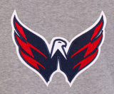 Washington Capitals Two-Tone Reversible Fleece Hooded Jacket - Gray/Red - JH Design
