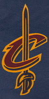 Cleveland Cavaliers Full Leather Jacket - Navy