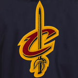 Cleveland Cavaliers Two-Tone Reversible Fleece Hooded Jacket - Navy/Grey - JH Design