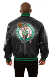 Boston Celtics Full Leather Jacket - Black - JH Design