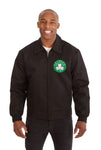 Boston Celtics Cotton Twill Workwear Jacket - Black
