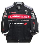 2019 Dodge Charger Racing Twill Jacket - Black