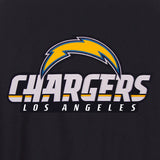 Los Angeles Chargers JH Design Wool Reversible Full-Snap Jacket – Navy - JH Design